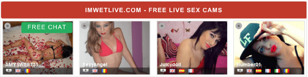 Chat free with live sex cam models right now!