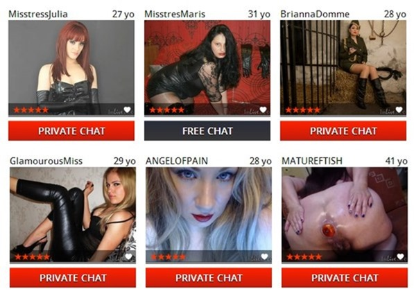 feitsh bdsm cams on livex