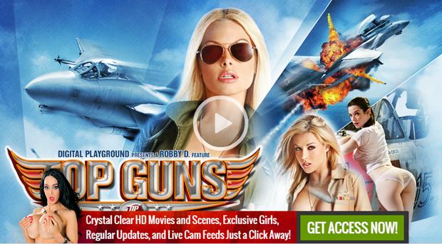 top guns digital playground